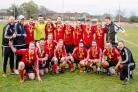 Worcester Nursing Sunday Junior Cup winners Callow End. Picture: ROGER KING