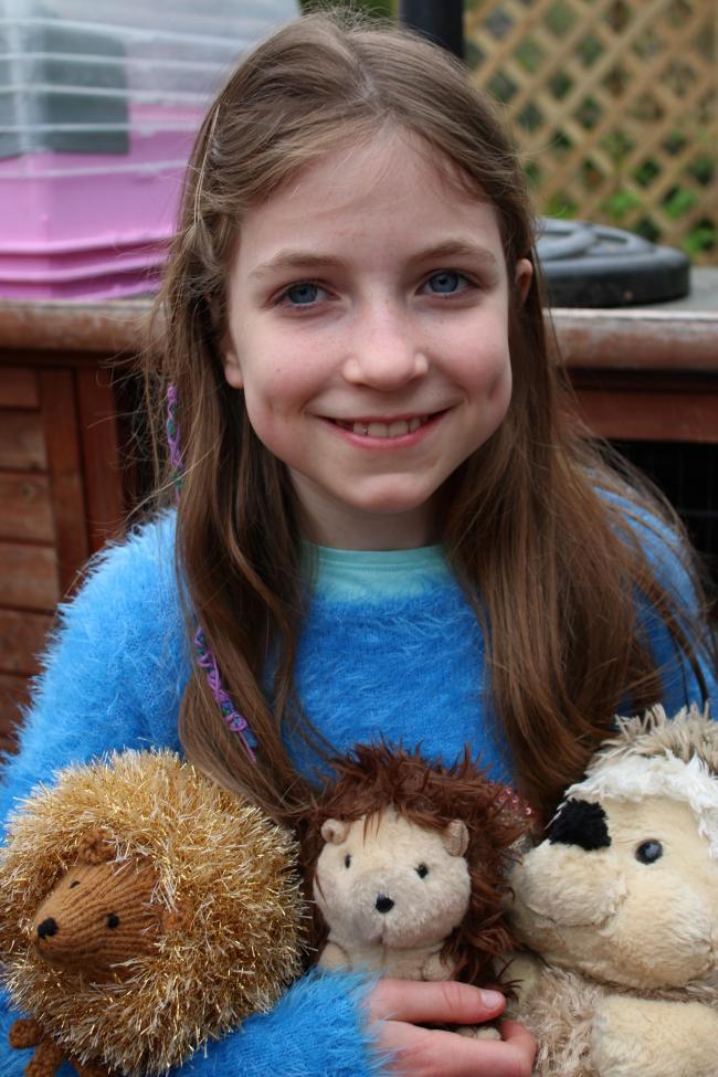 Big-hearted pupils raise money for Malvern Hedgehog Rescue