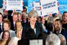 Theresa May aims to woo Labour voters with Brexit strength pitch