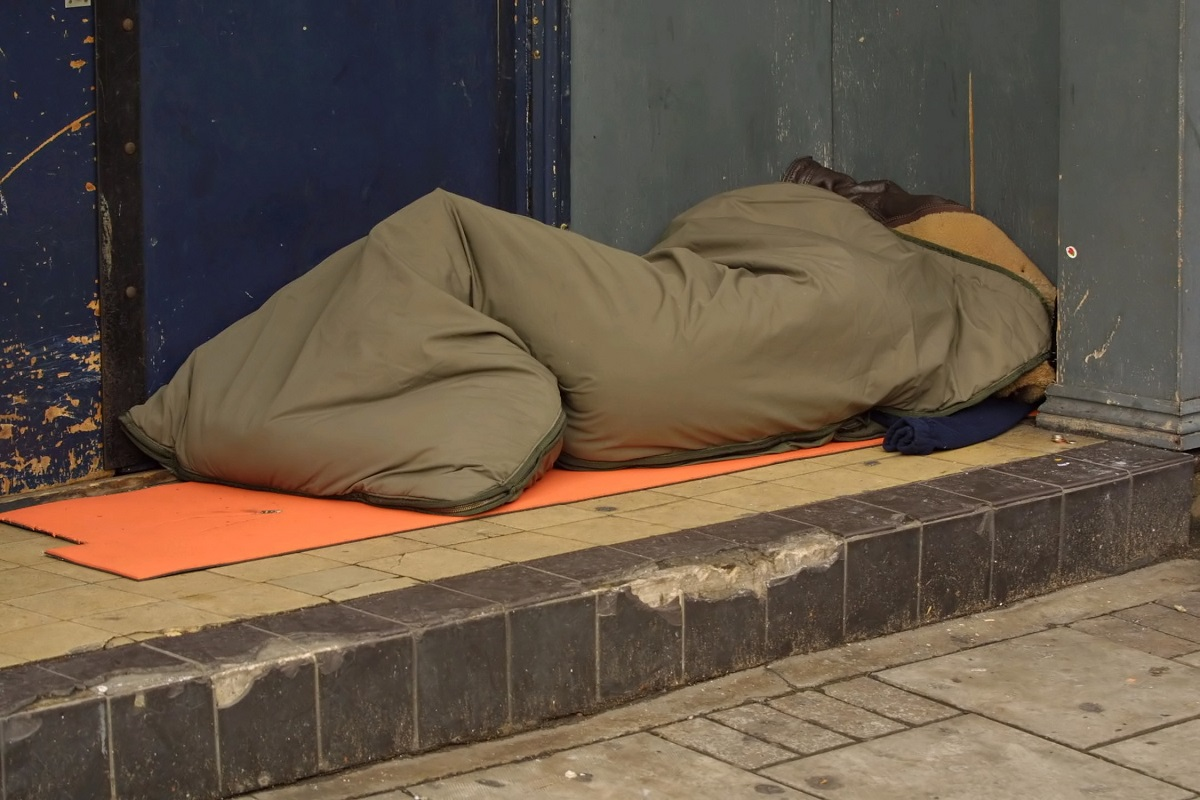 Dave Griffiths says it is wrong that some are sleeping in doorways while others live in luxury