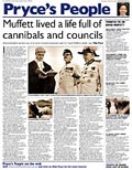 Muffett lived a life full of cannibals and councils