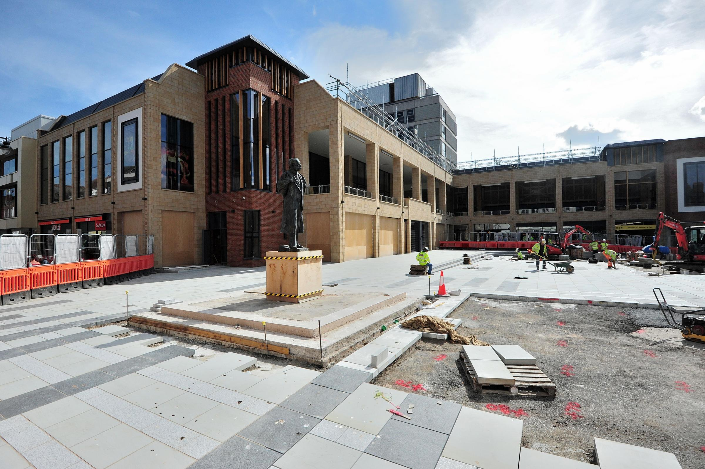 Cathedral Square is almost ready, but one reader is not impressed with the retail offer