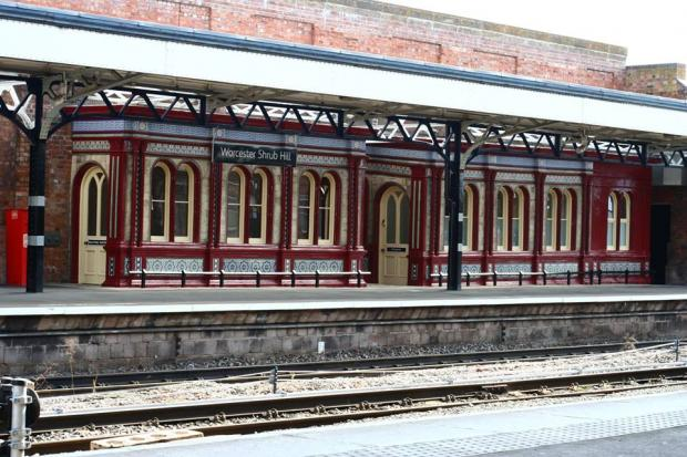 Worcester Shrub Hill station. Picture: Peter Jenner