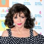Worcester News: Actress Joan Collins comments on BBC pay gap dispute