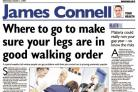 Where to go to make sure your legs are in good walking order