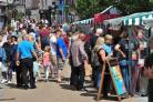 Visitors flock to Worcester Foodie Festival 2017. Picture by Jonathan Barry 4.8.17.