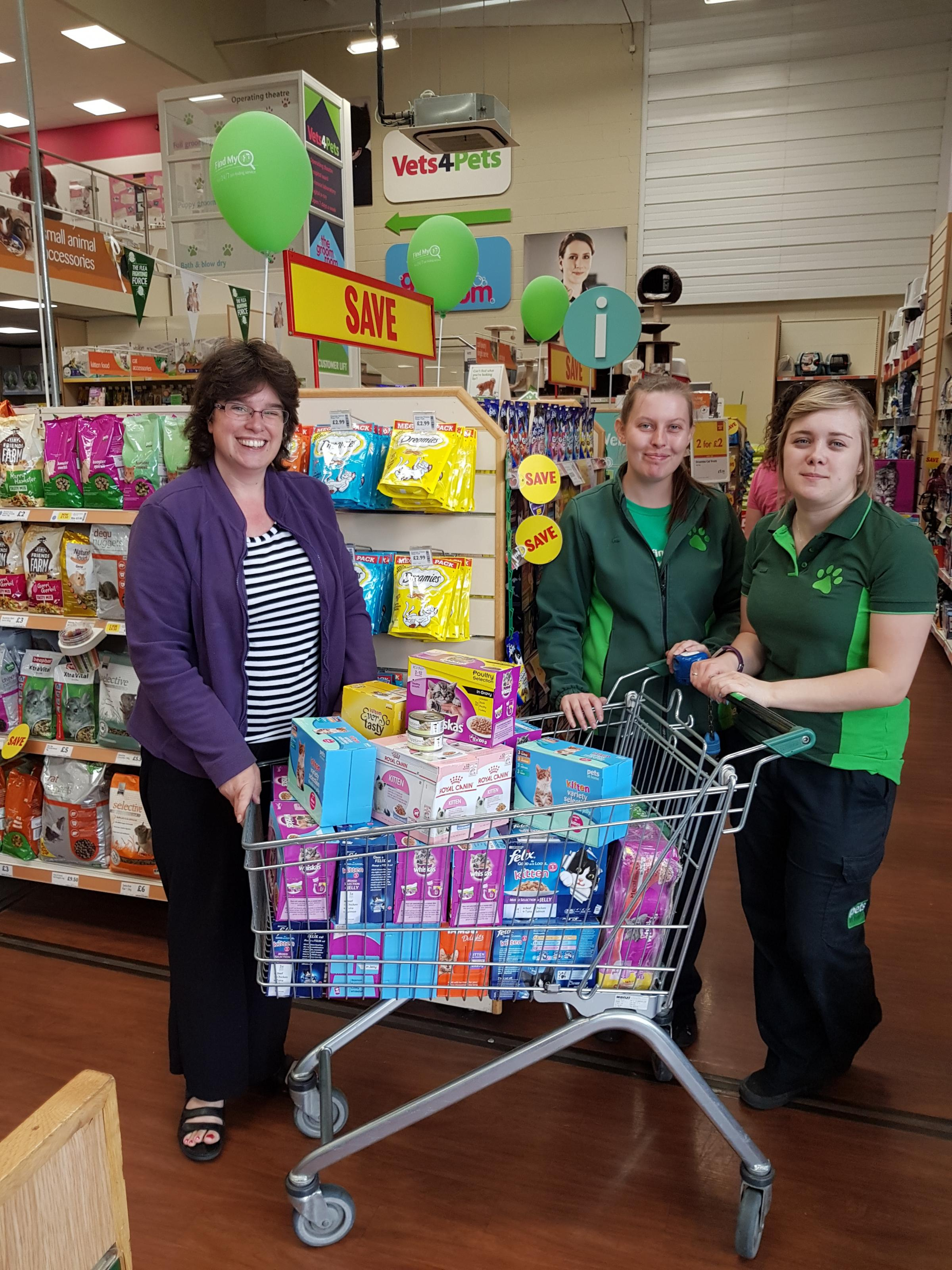 Evesham Pets At Home S Vip Scheme Is A Tasty Treat For Cats And Kittens From Evesham Cats Protection Worcester News