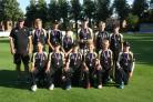 National runners-up Dumbleton under 13s