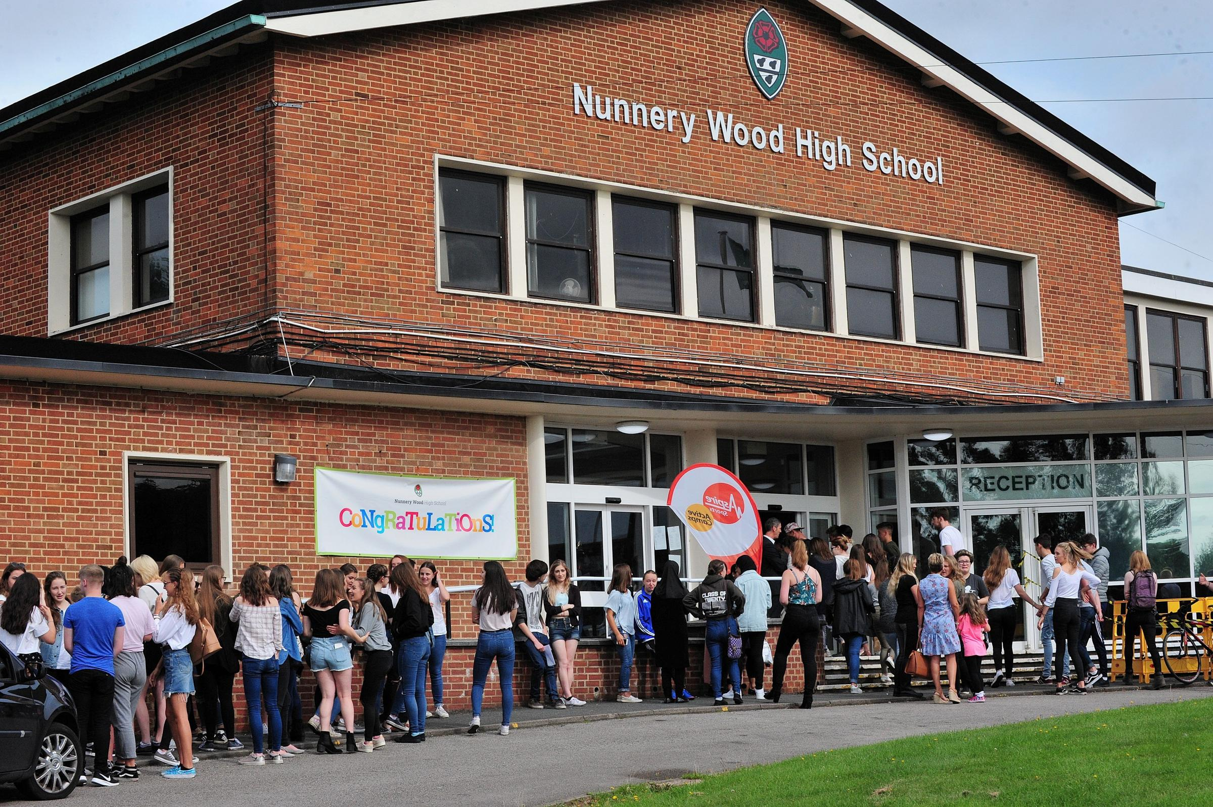 Nunnery Wood High School, Worcester, is one of the schools signed up for the council's schools' library service