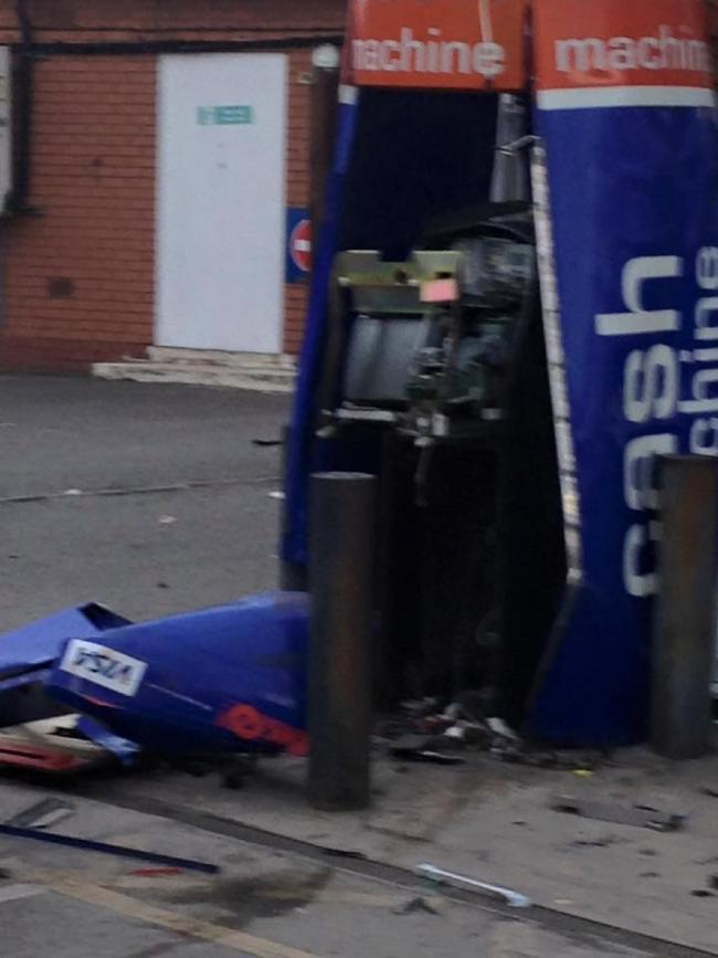 Cash machine thief who blew up ATM has prison sentence extended