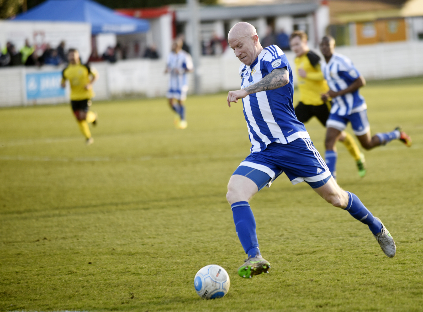 BACK? Worcester City's Lee Hughes. Picture: David Griffiths.