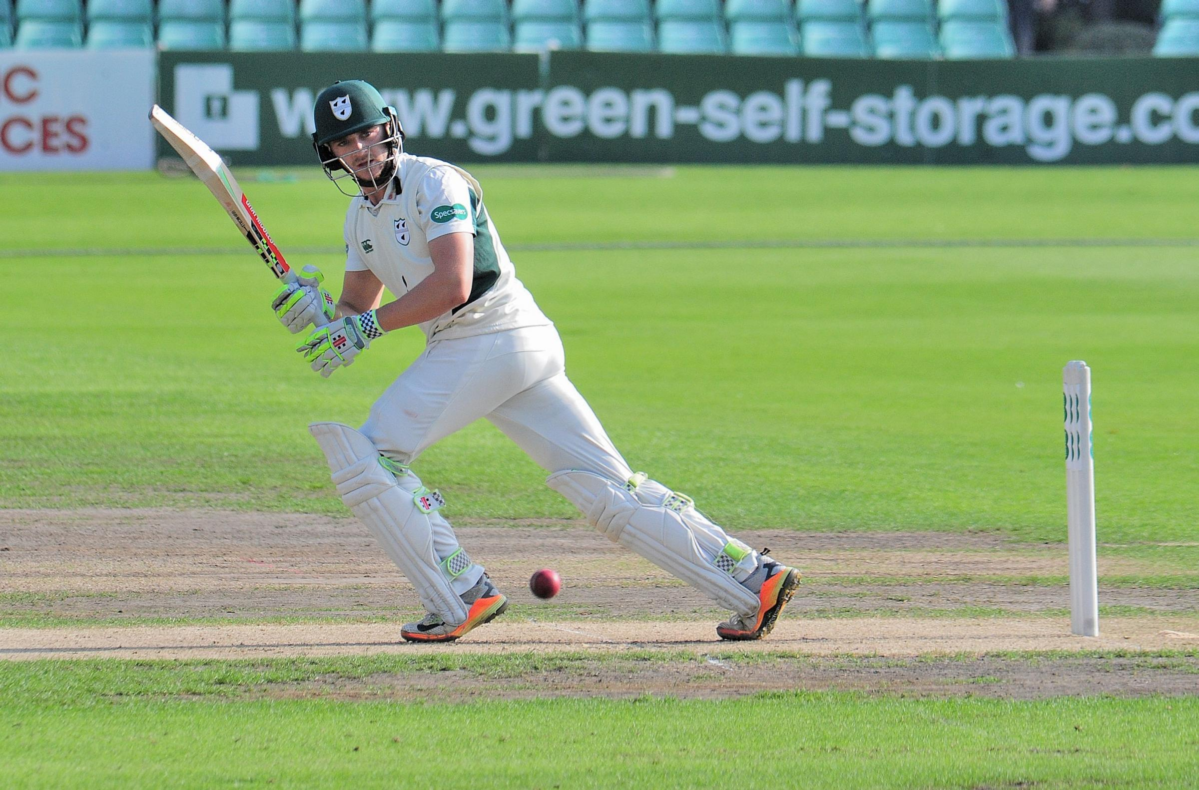 Cricket: Worcestershire's Joe Clarke hits 87 for England Lions