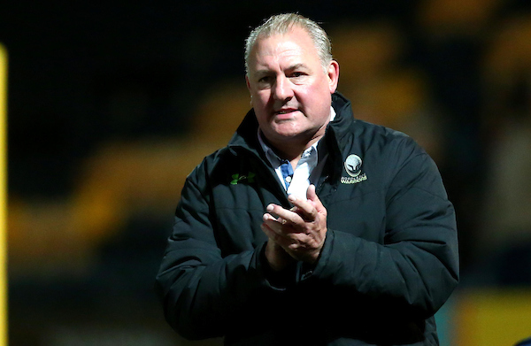 Director of rugby Gary Gold. Picture: Robbie Stephenson/JMP