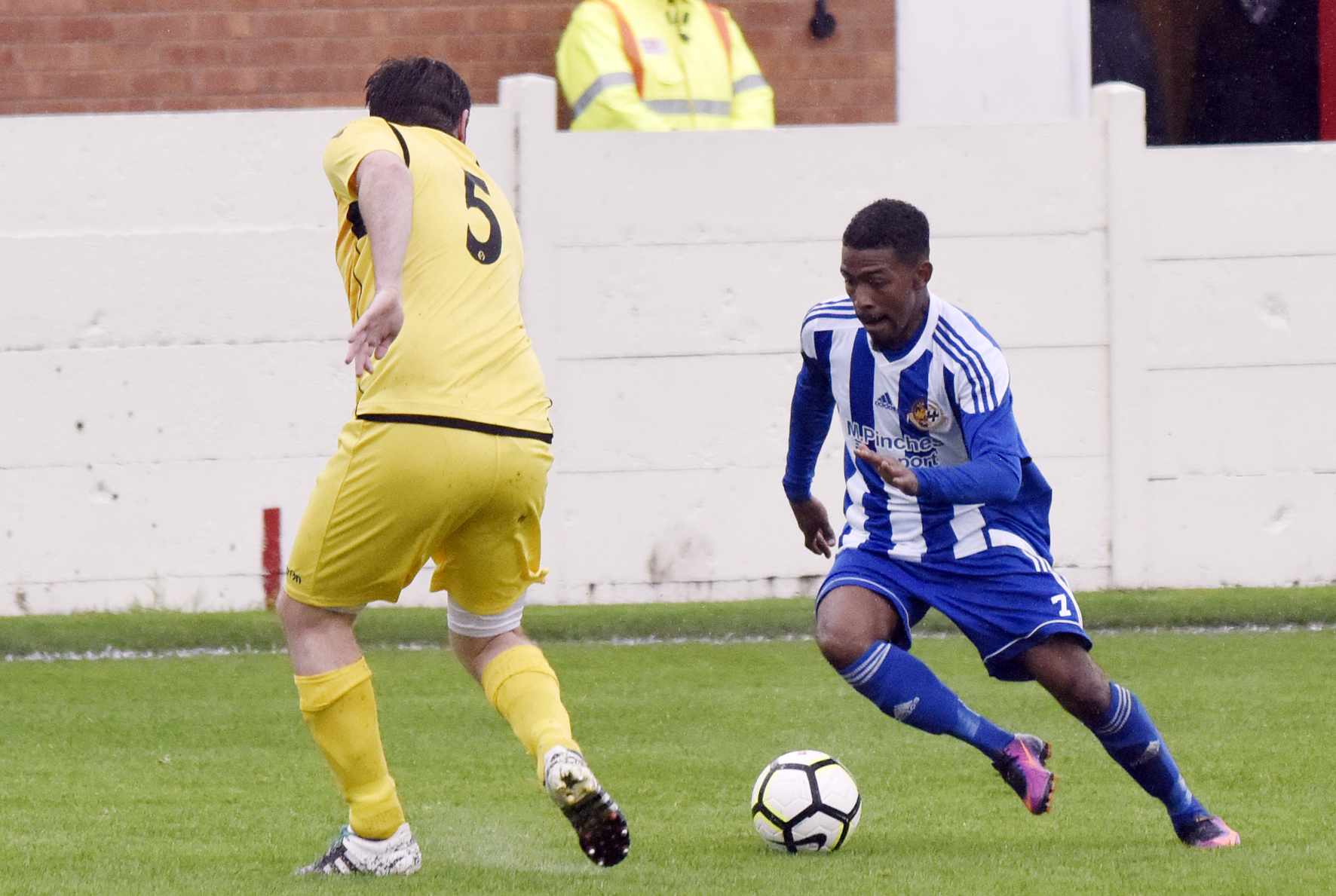 GOING? Worcester City winger Josh Sarmento