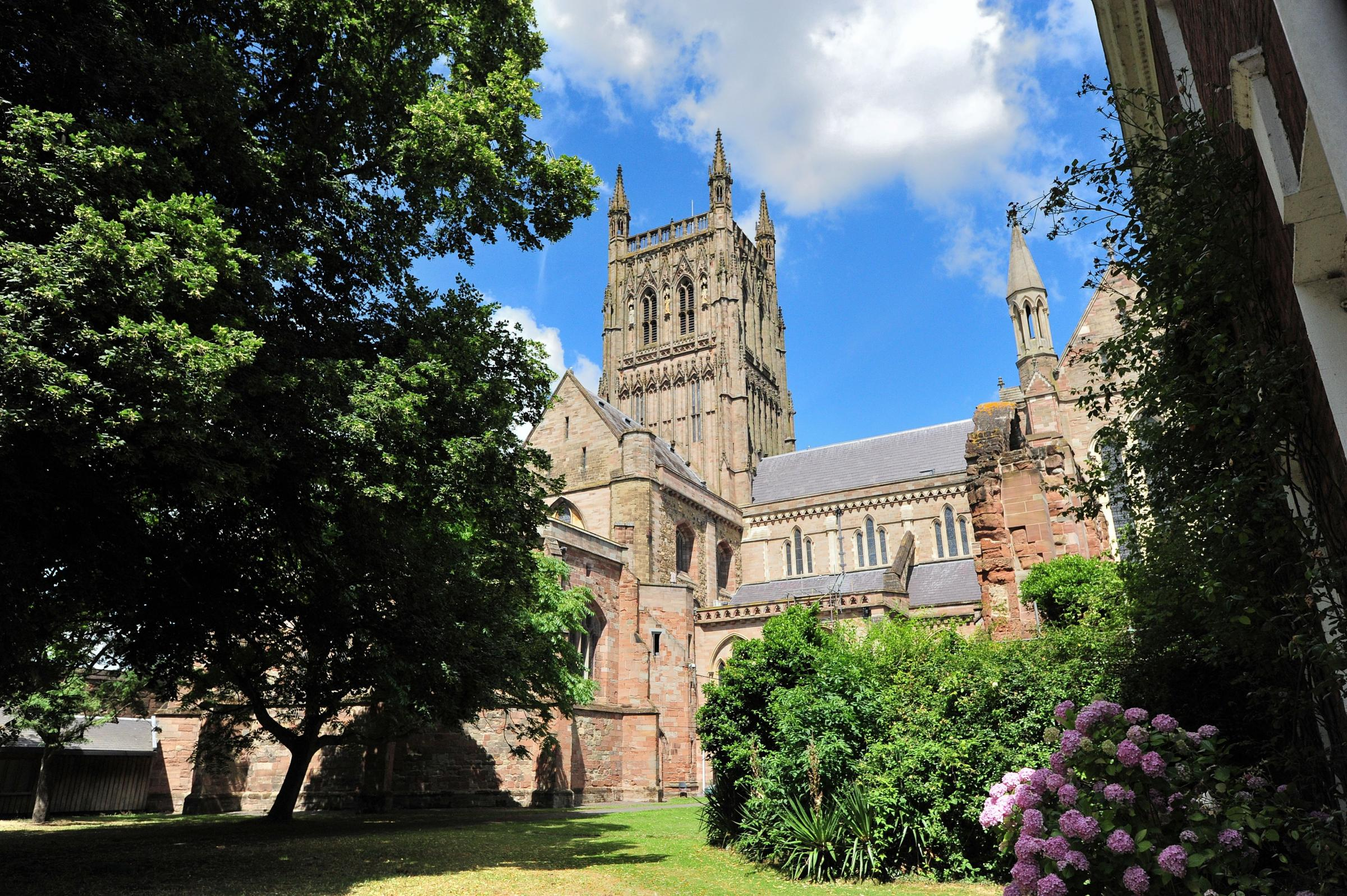 LECTURE: Former Home Secretary is to give a lecture at Worcester Cathedral. Picture: Jonathan Barry.
