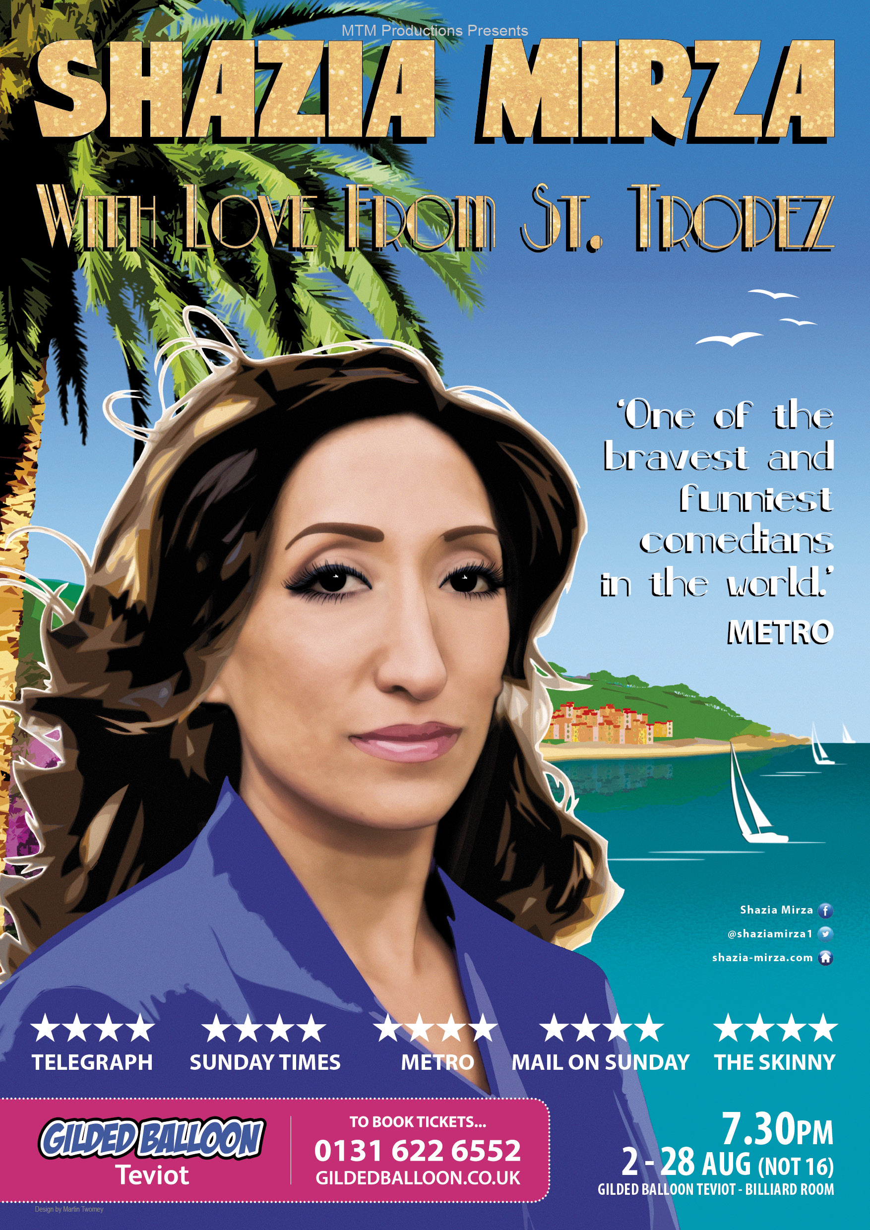 Shazia Mirza - With Love from St. Tropez
