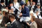 Mick Kinane celebrates winning the 2007 Ascot Gold Cup with Yeats