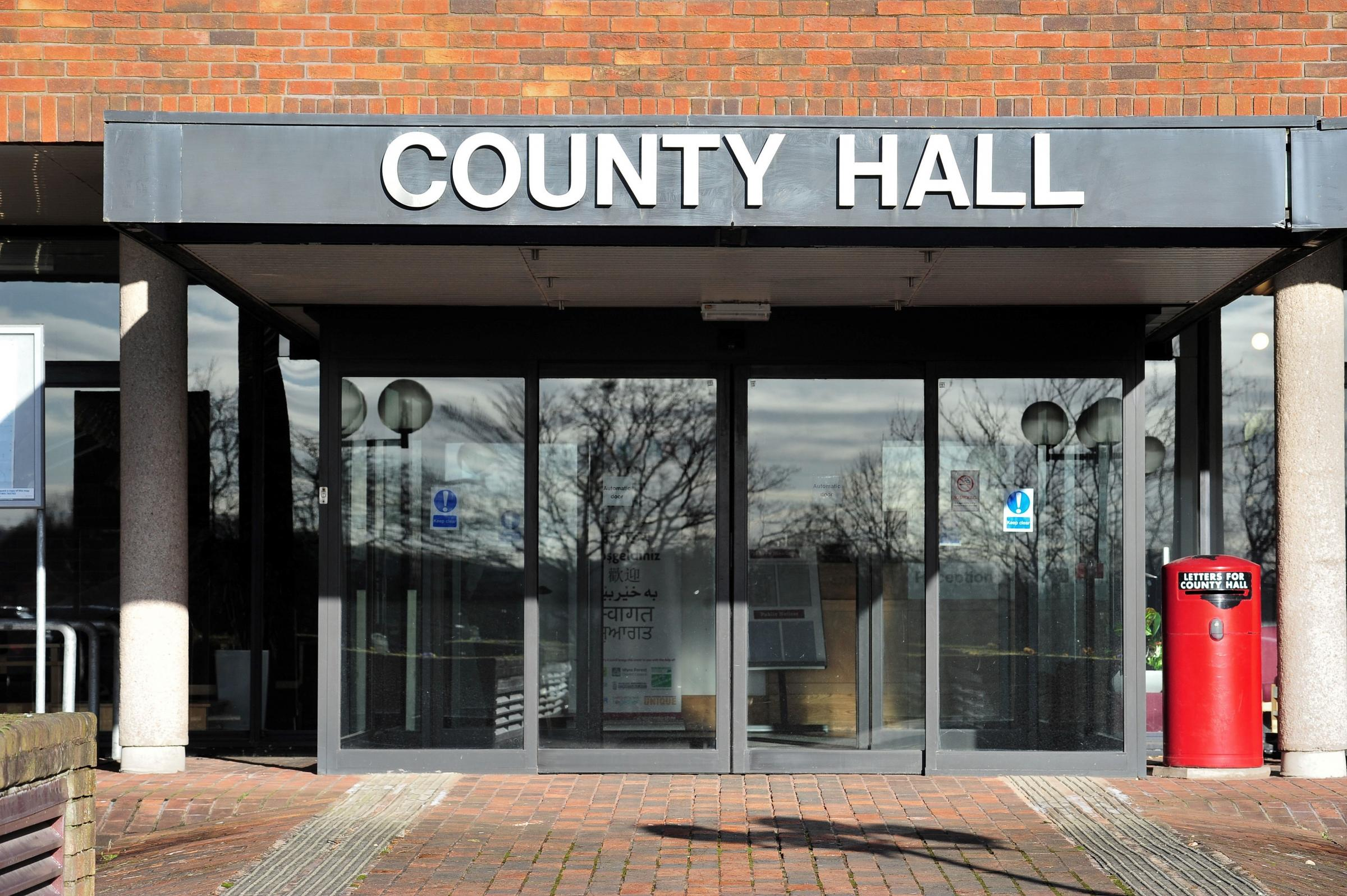 MOTION REJECTED: A motion calling for government intervention of the running of Worcestershire County Council was voted down at an extraordinary meeting. Picture: Jonathan Barry.