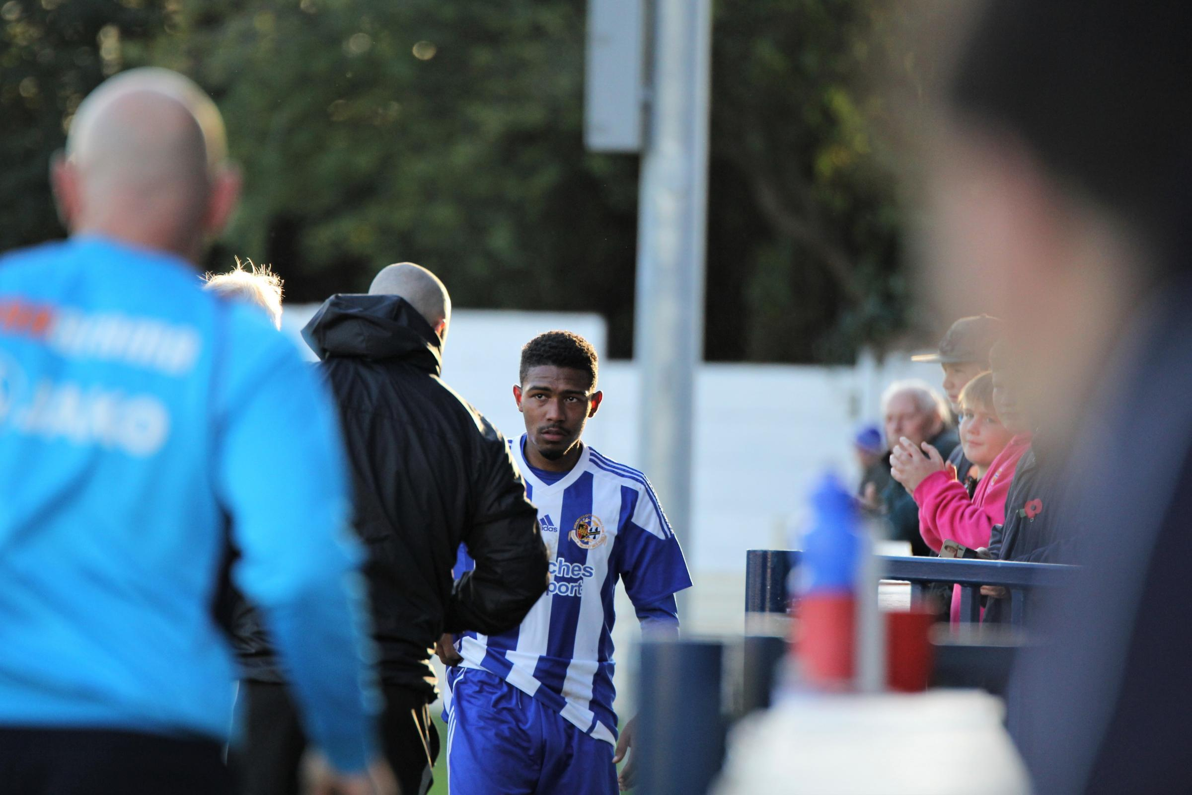 GOING, GOING, GONE? Worcester City winger Josh Sarmento. Picture: DAVID DUNHAM