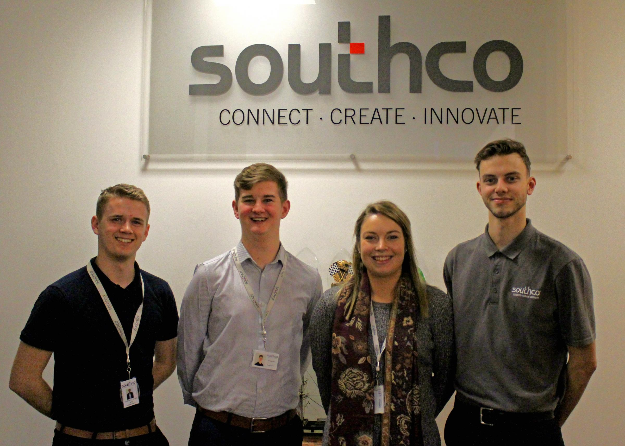 APPRENTICES: Southco's apprentice programme is starting to receive wider recognition.