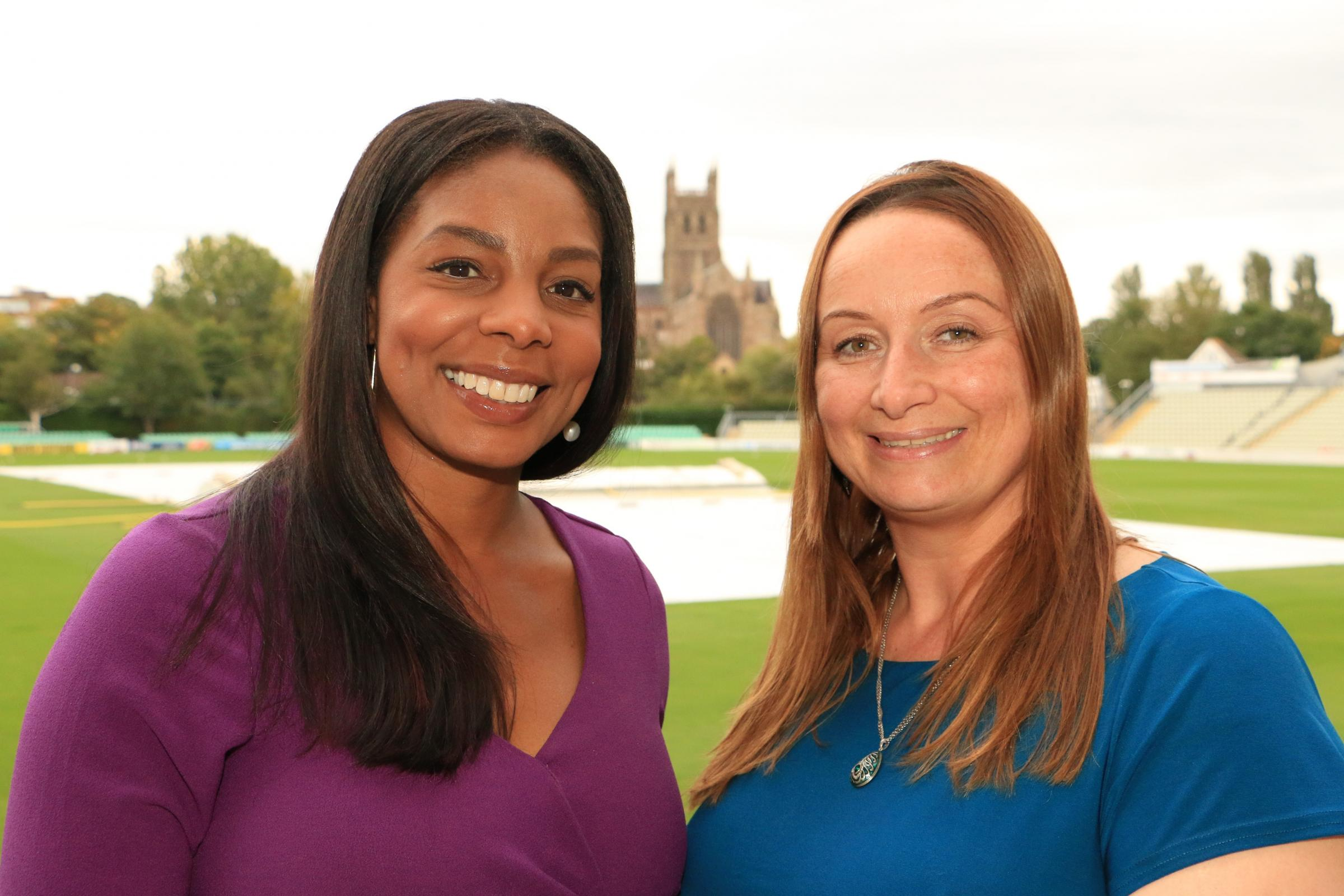 AWARDS: Wonderful Worcestershire award founders Julia Williams and Sarah-Mayo Evans.