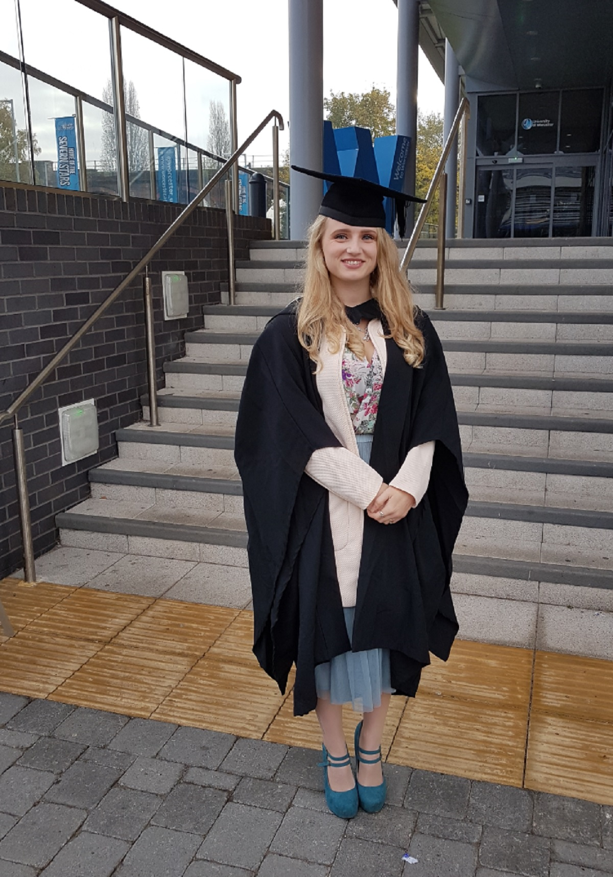 SUCCESS: Student Emma Bailey has celebrated a triple triumph in one week.
