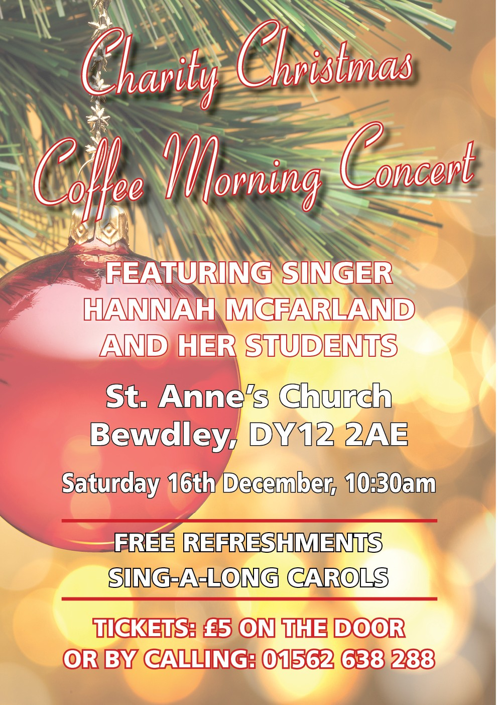 Charity Christmas Coffee Morning Concert