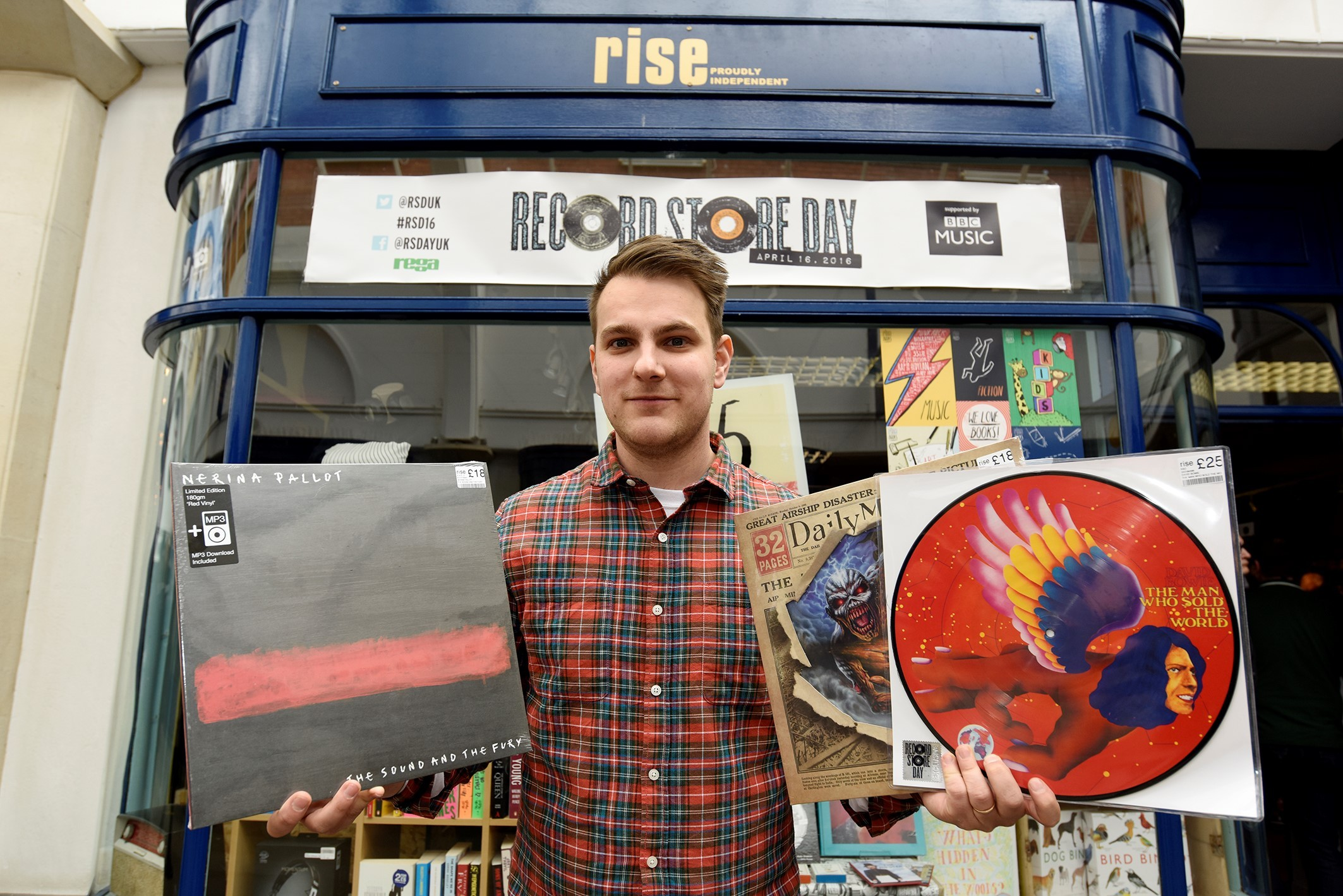 Rise Records in Crowngate Shopping Centre will close on Sunday (January 14). Photo: Dave Griffiths