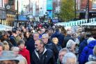 SECURITY: The packed High Street during the Victorian Christmas Fayre last year. Picture: Jonathan Barry.