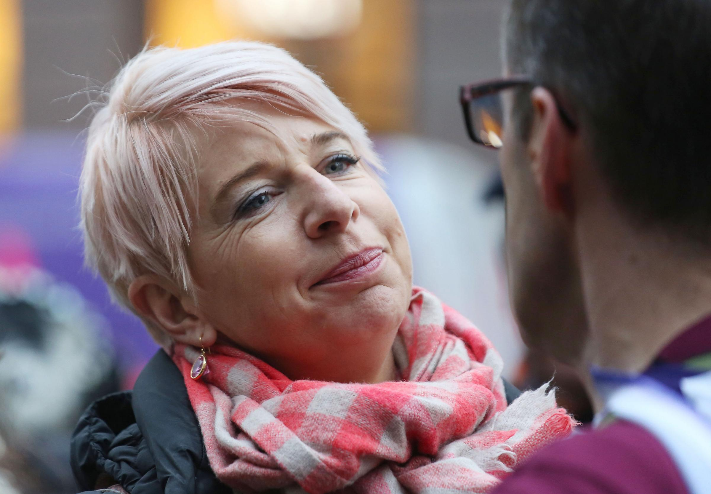 CUT TIES: Katie Hopkins who will no longer write a MailOnline column. Picture: Philip Toscano/PA Wire.