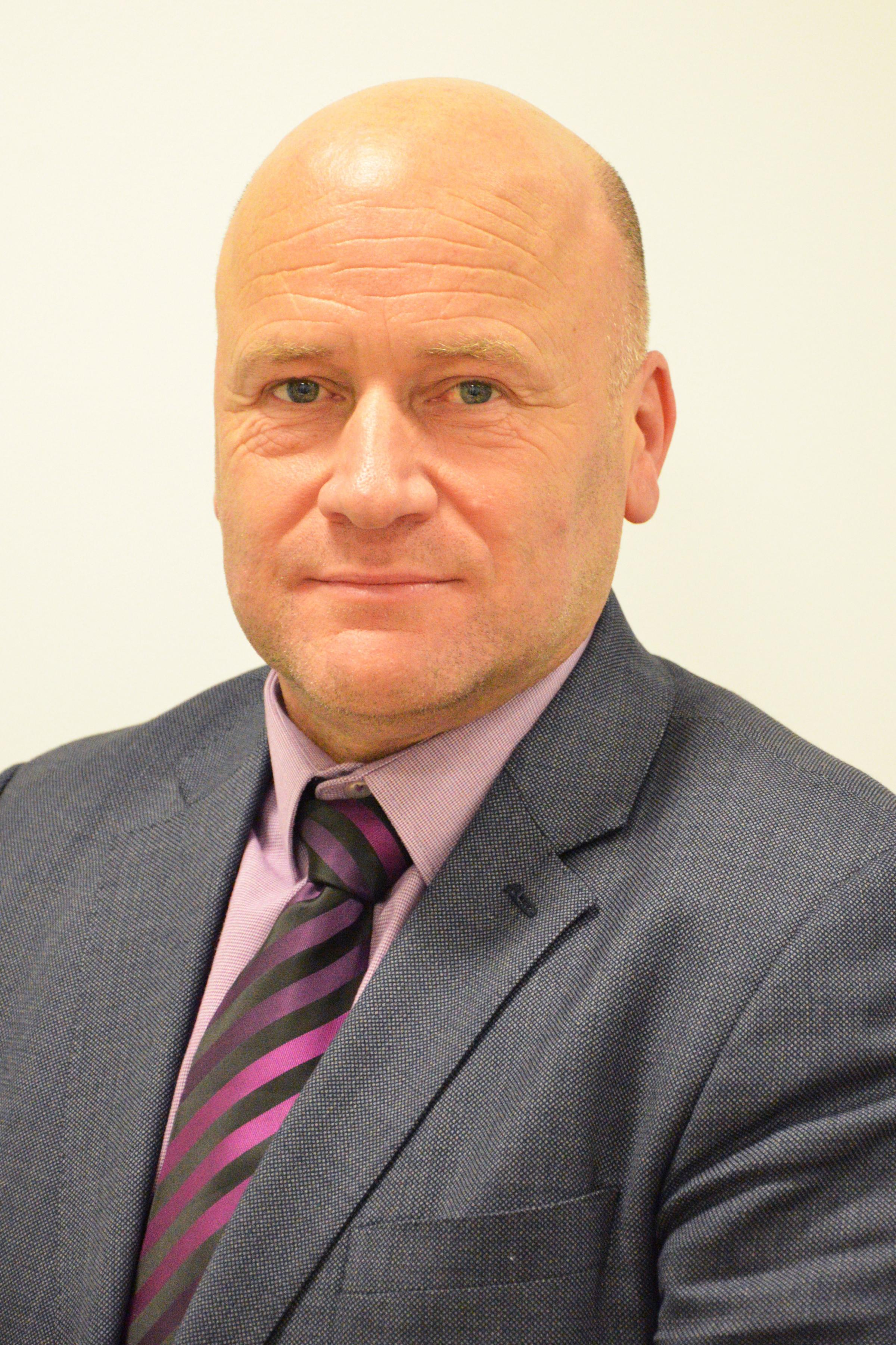 APPOINTMENT: Paul Robinson has been appointed as the new chief executive at county council, subject to approval on Thursday