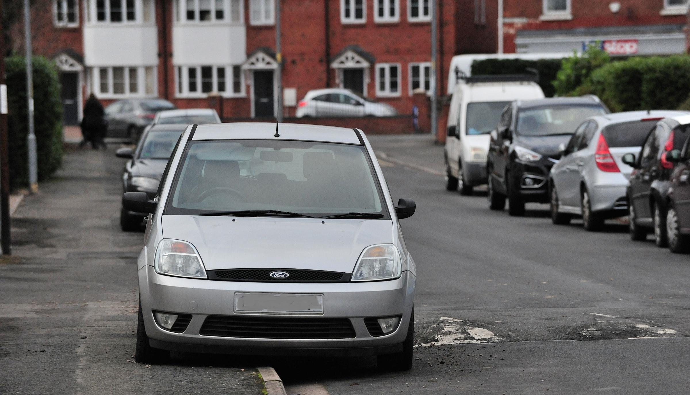 'NUISANCE': The abandoned Ford Fiesta Car has apparently been parked on Blanquettes Avenue in Worcester for over six months