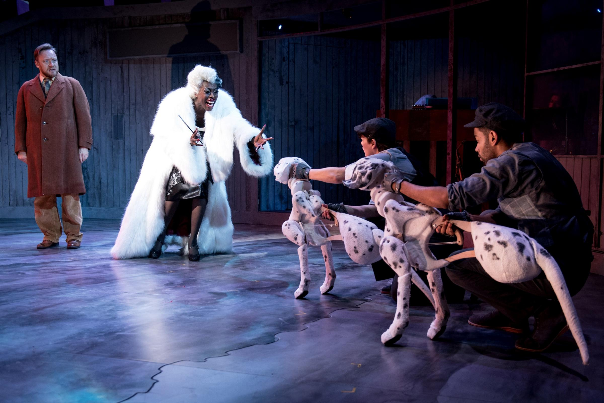 THE HUNDRED AND ONE DALMATIANS - Theatre Review (Birmingham REP) (photo credit: Graeme Braidwood)