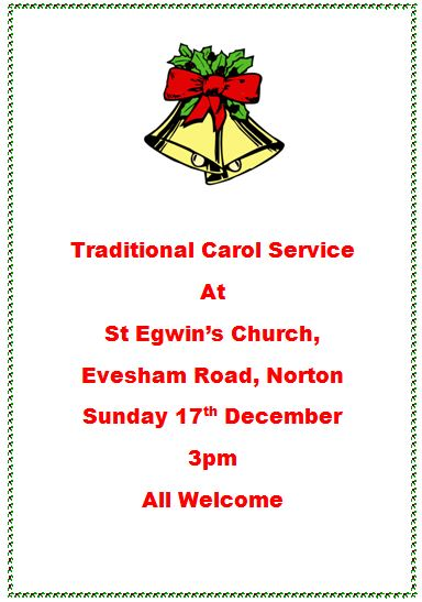 St Egwin's Church Traditional Carol Service