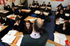 "The study defines ""high-performing"" secondary schools as those in the top third in terms of the progress pupils make (David Davies/PA)"