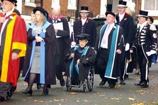 University of Worcester graduations 2008