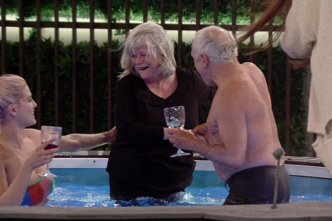 Ann Widdecombe stuns CBB housemates by joining them in the