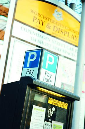 Debate over car parking charges in Worcester last night