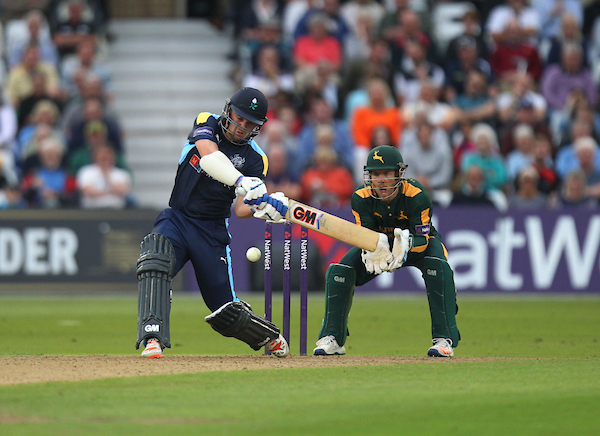 Travis Head in action with the bat for Yorkshire Vikings. Picture: Jack Phillips/JMP
