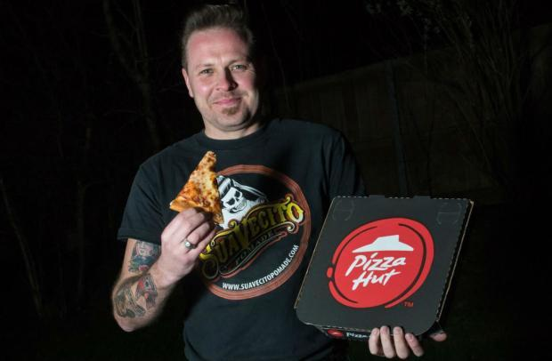 Nick Richardson Of Redditch Is Convinced Pizza Hut Took