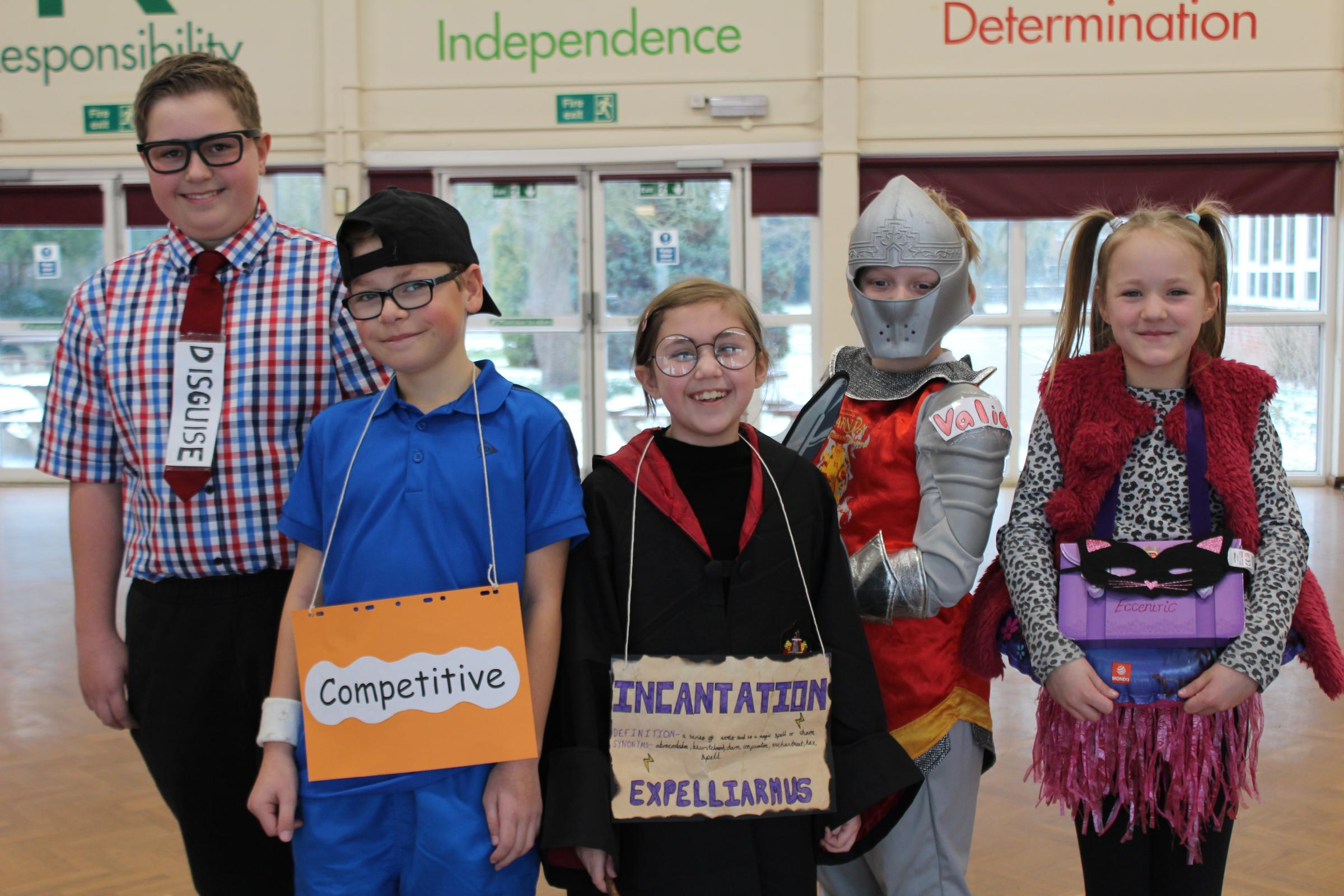'Cool' vocabulary day at Witton Middle School