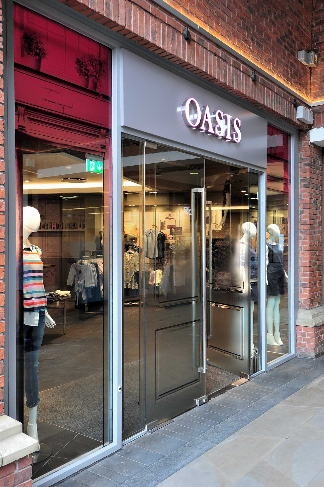 NEW: Oasis  has opened in Crowngate, Worcester. Photo: Jonathan Barry