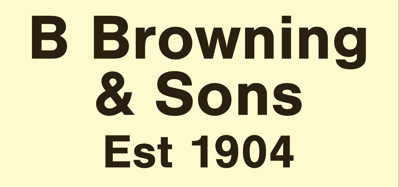BROWNINGS (ACTUAL)
