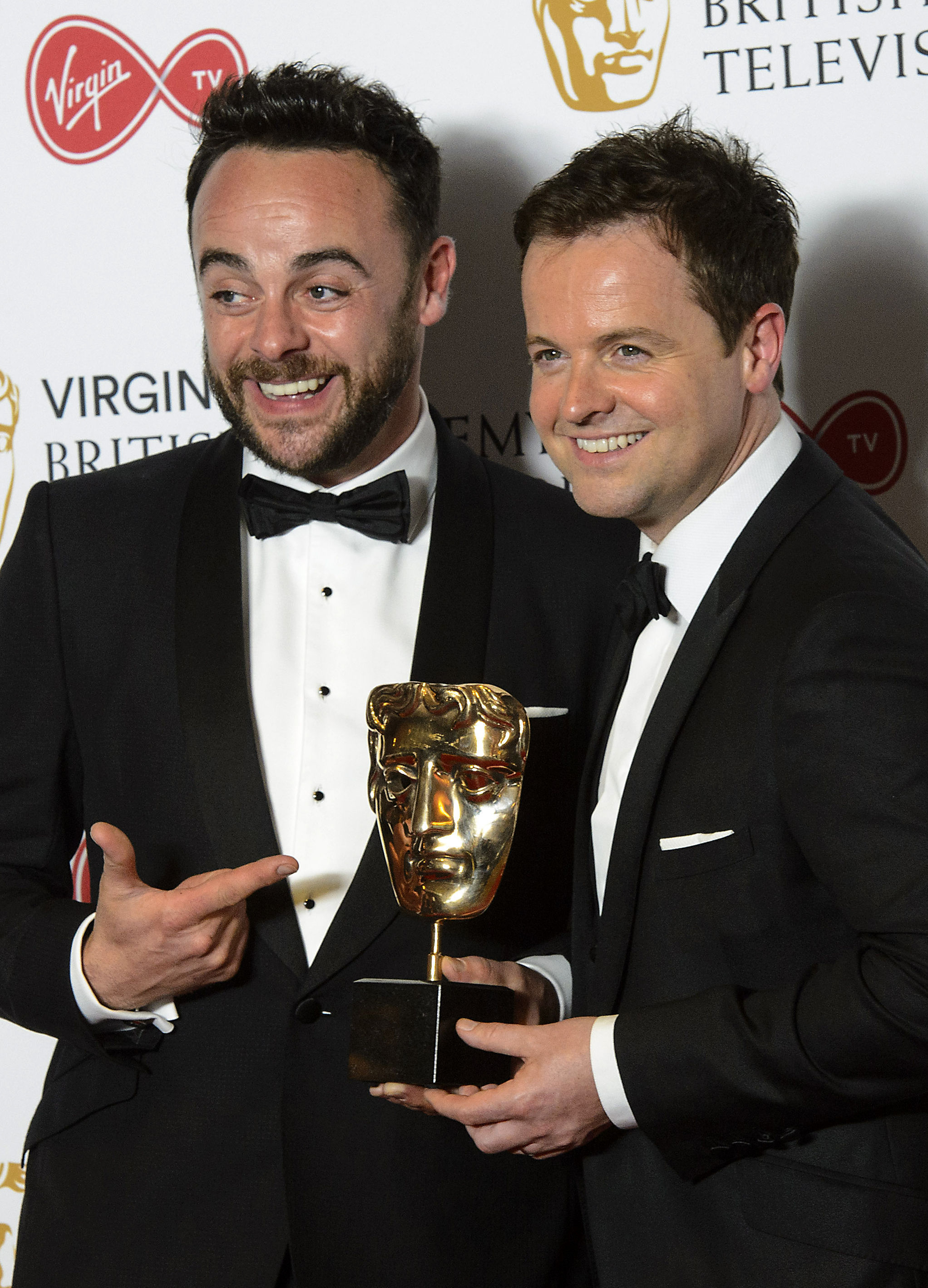 CANCELLED: Ant McPartlin has pulled the plug on TV work with Declan Donnelly. Matt Crossick/PA Wire