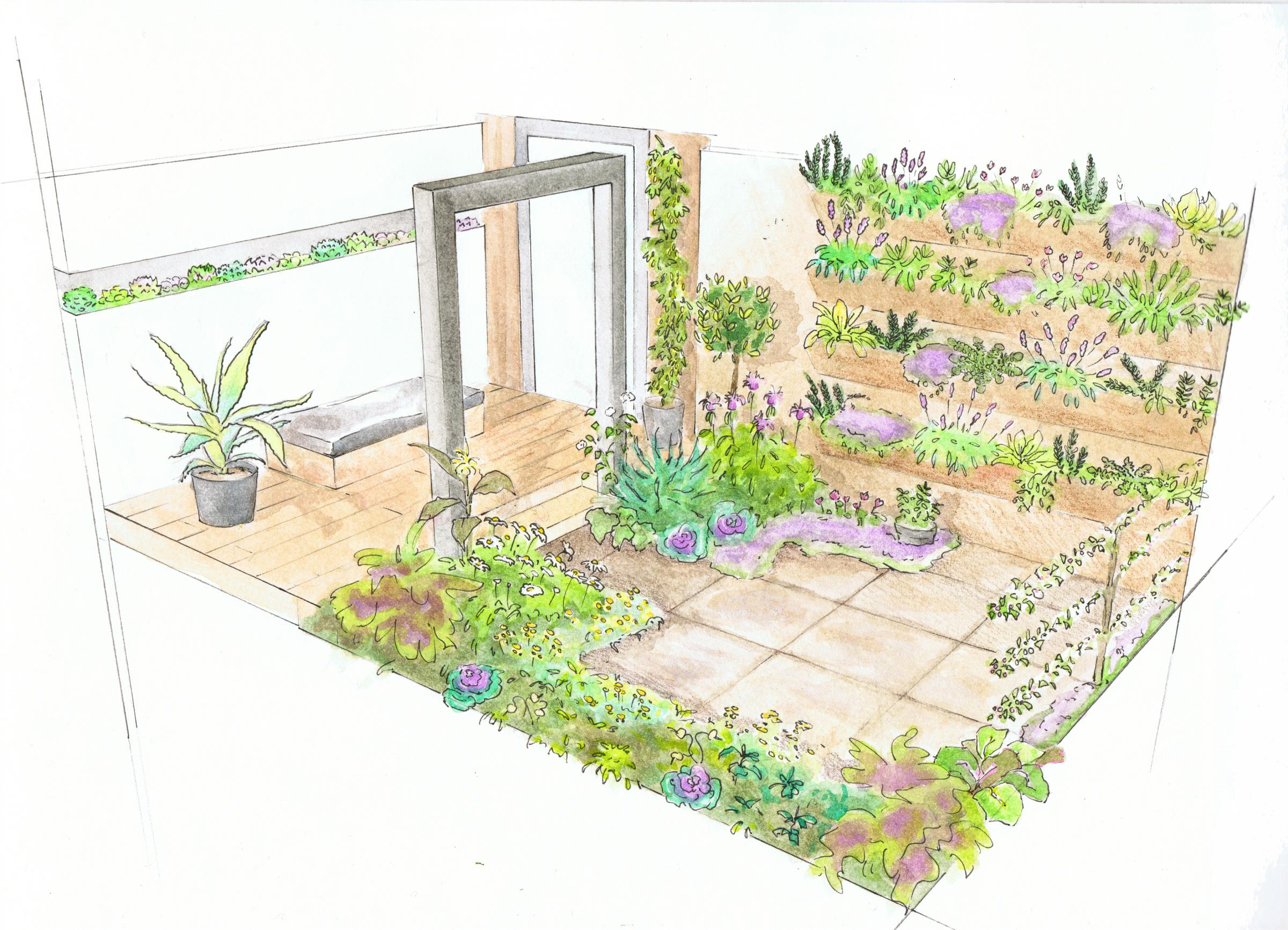 New Green Living Feature Makes The Most Of Rented Homes And Small Garden  Areas