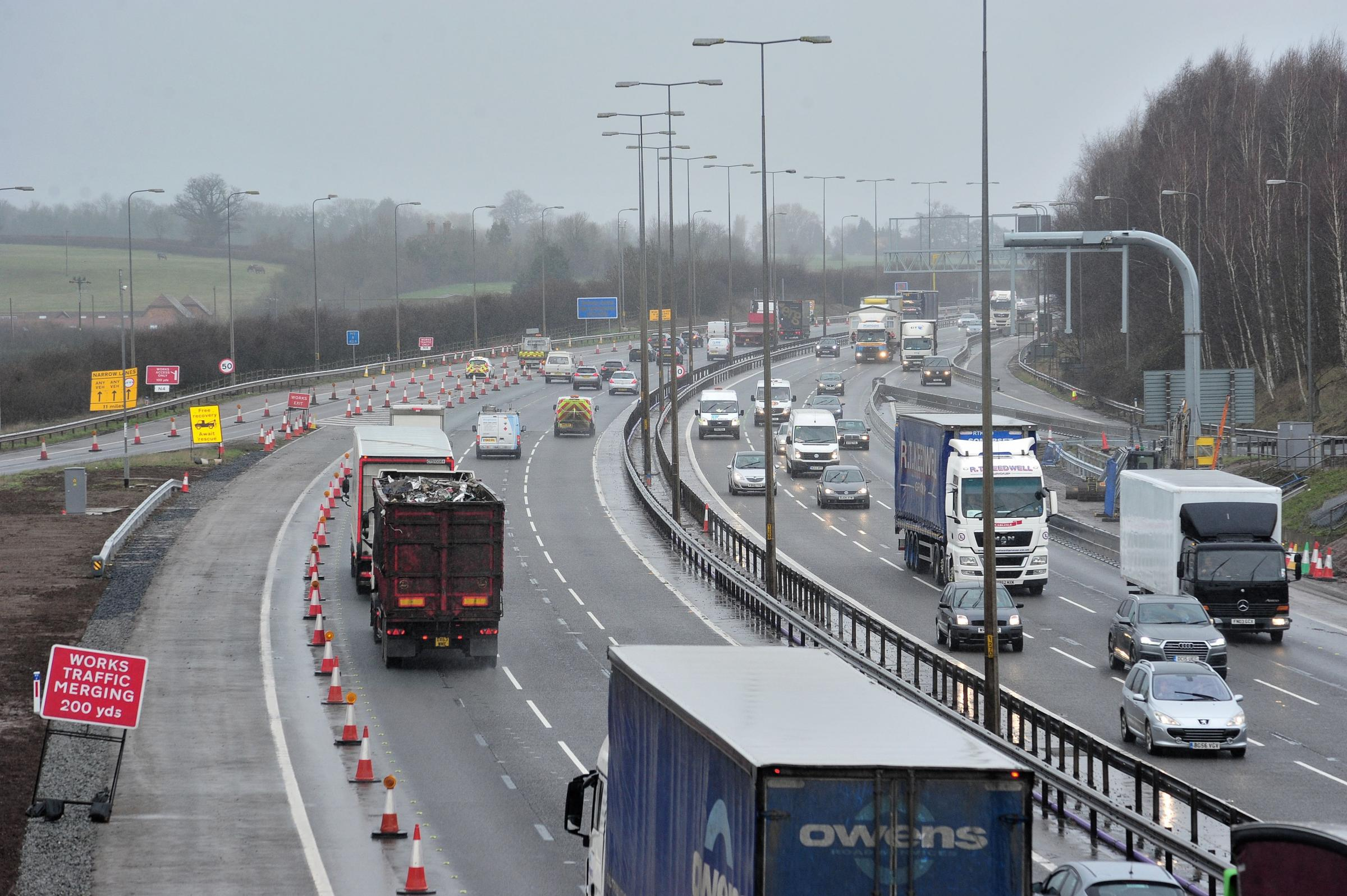 ROADWORKS: Planned road closures on the M5 next week have been cancelled.