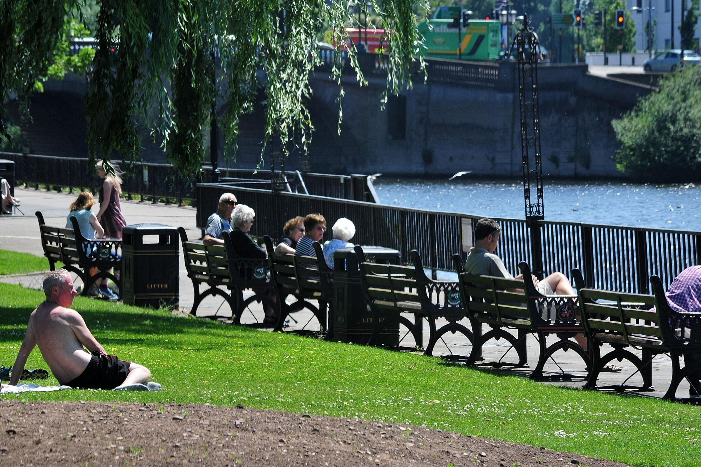 HOT: It could be the hottest day of the year so far today in Worcester