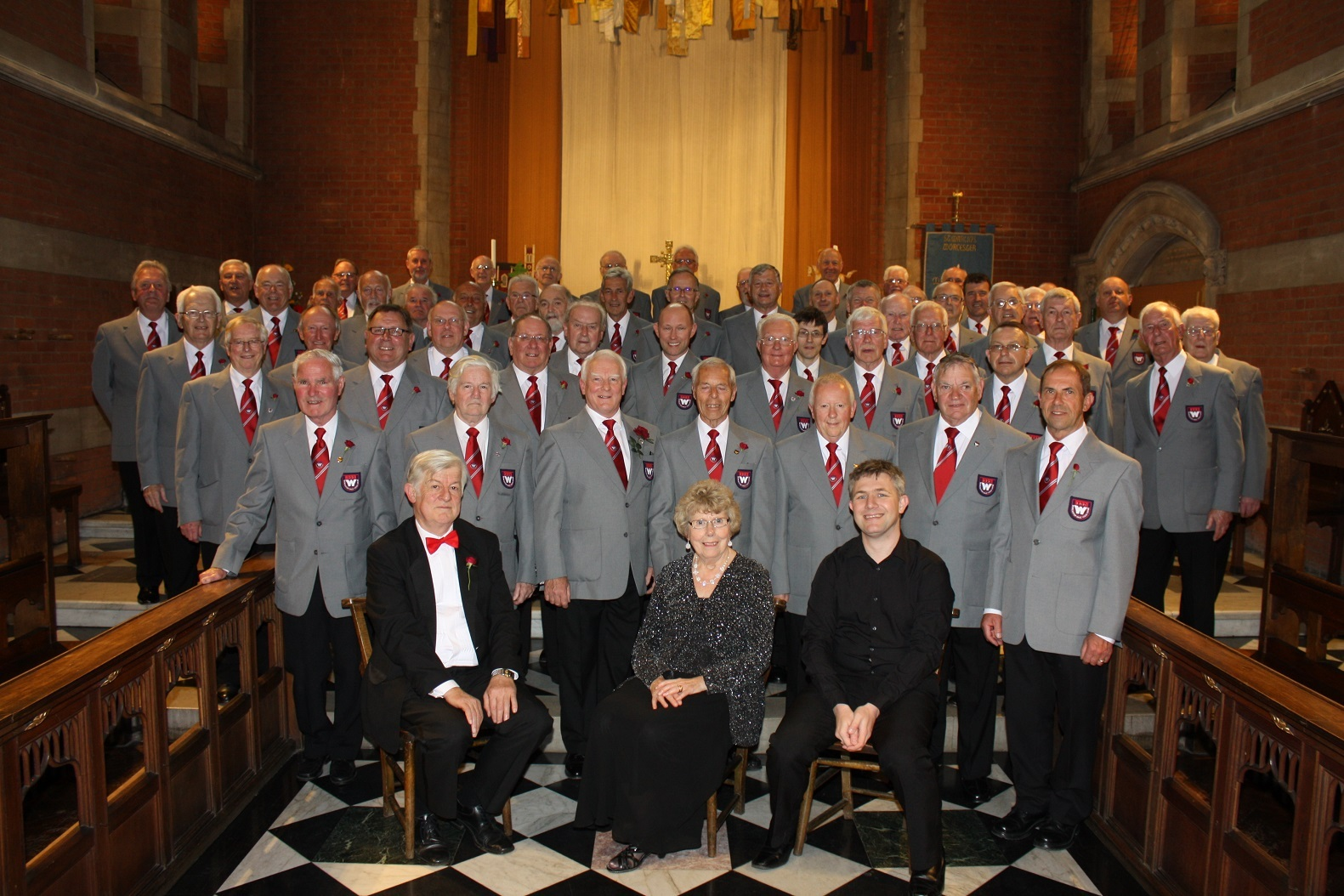 BUSY: Worcester Male Voice Choir, a local success story