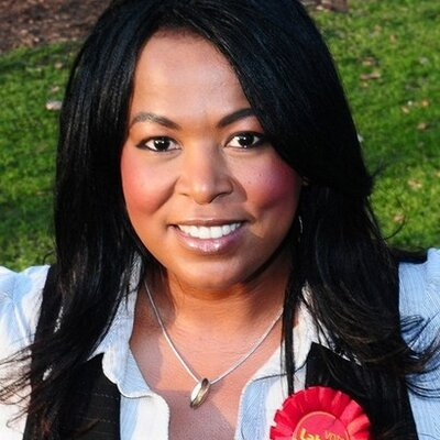 Mandy Richards, Labour parliamentary candidate for Worcester - photo from her Twitter account
