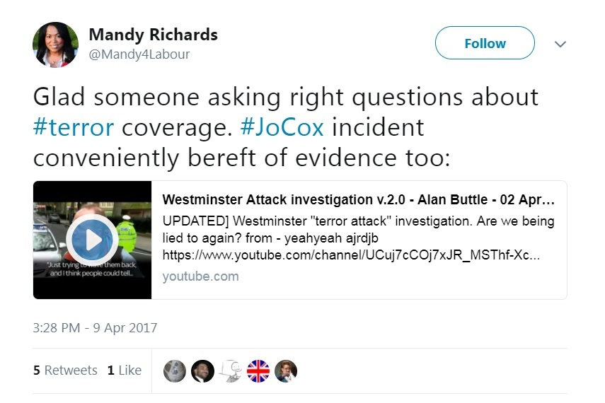 CANDIDATE: Labour's parliamentary candidate shared a video suggesting footage of the Westminster terror attack was fake.